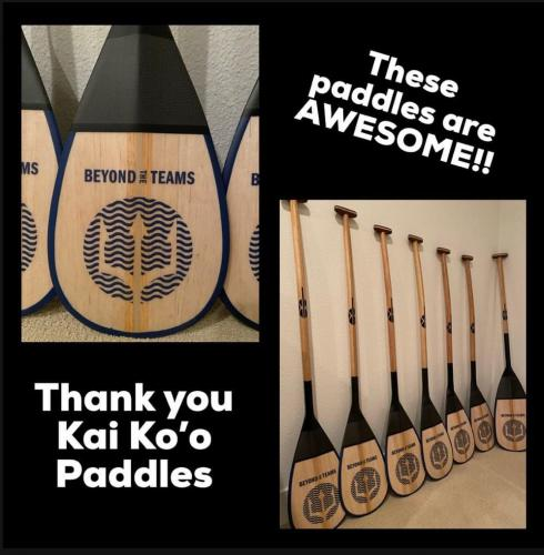 New Paddles!